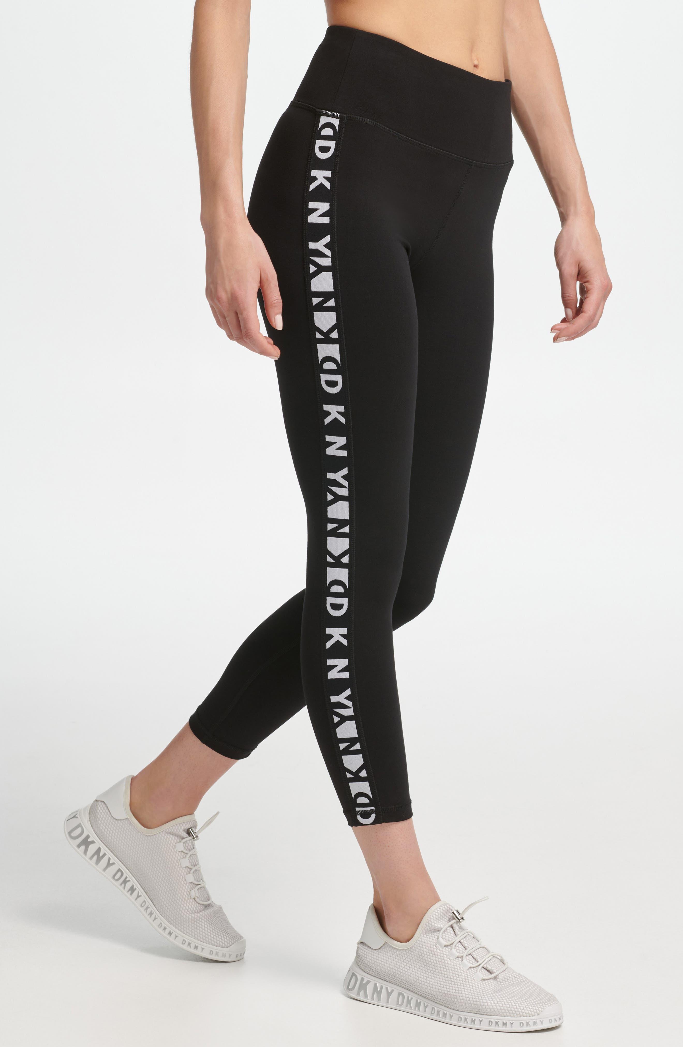 Logo High Waist Leggings