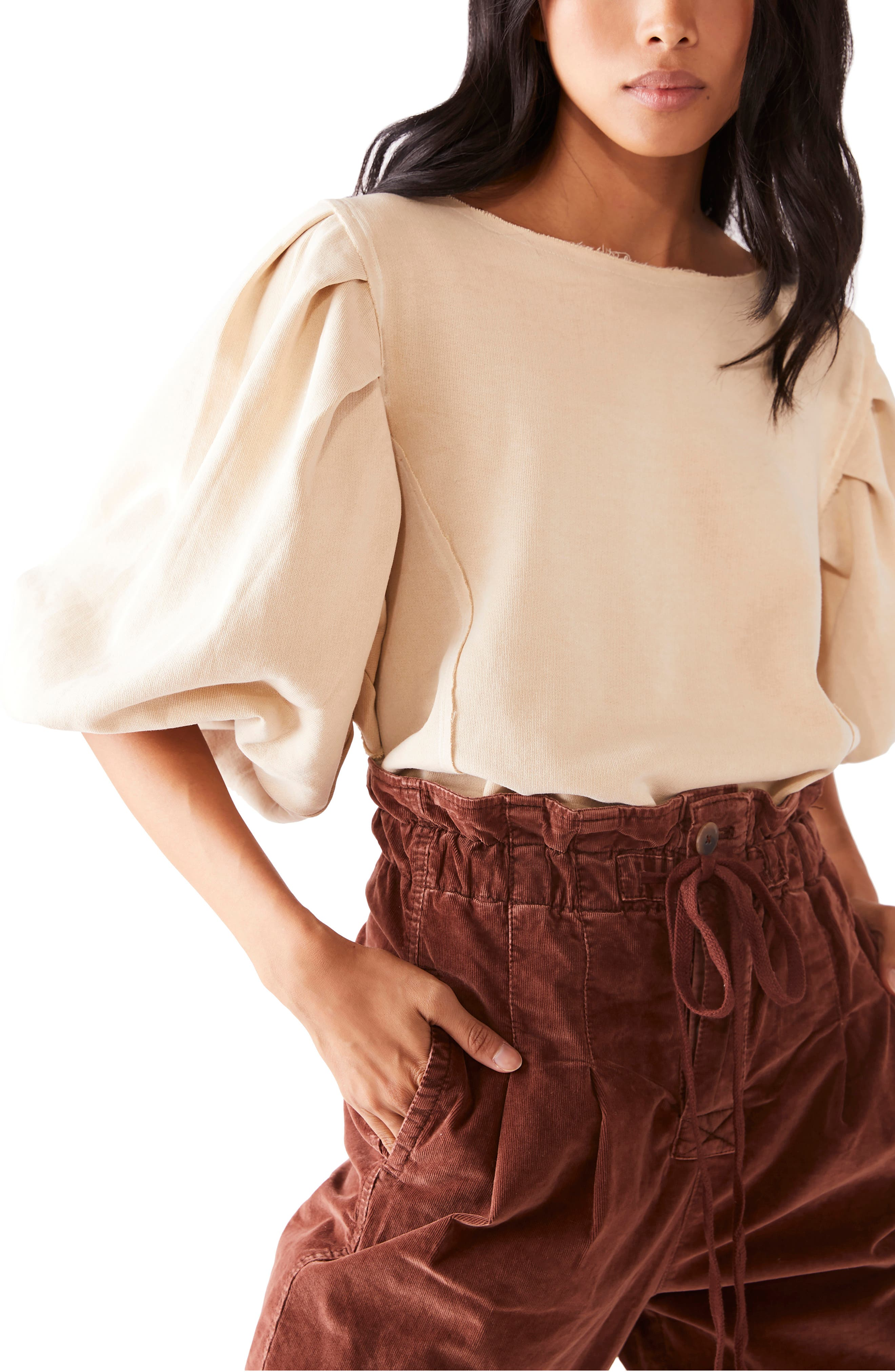 Image of Free People Rosey Pullover