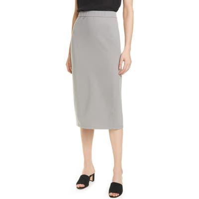 Eileen Fisher Pencil Skirt, Grey