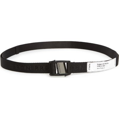 Heron Preston Tape Detail Logo Jacquard Belt