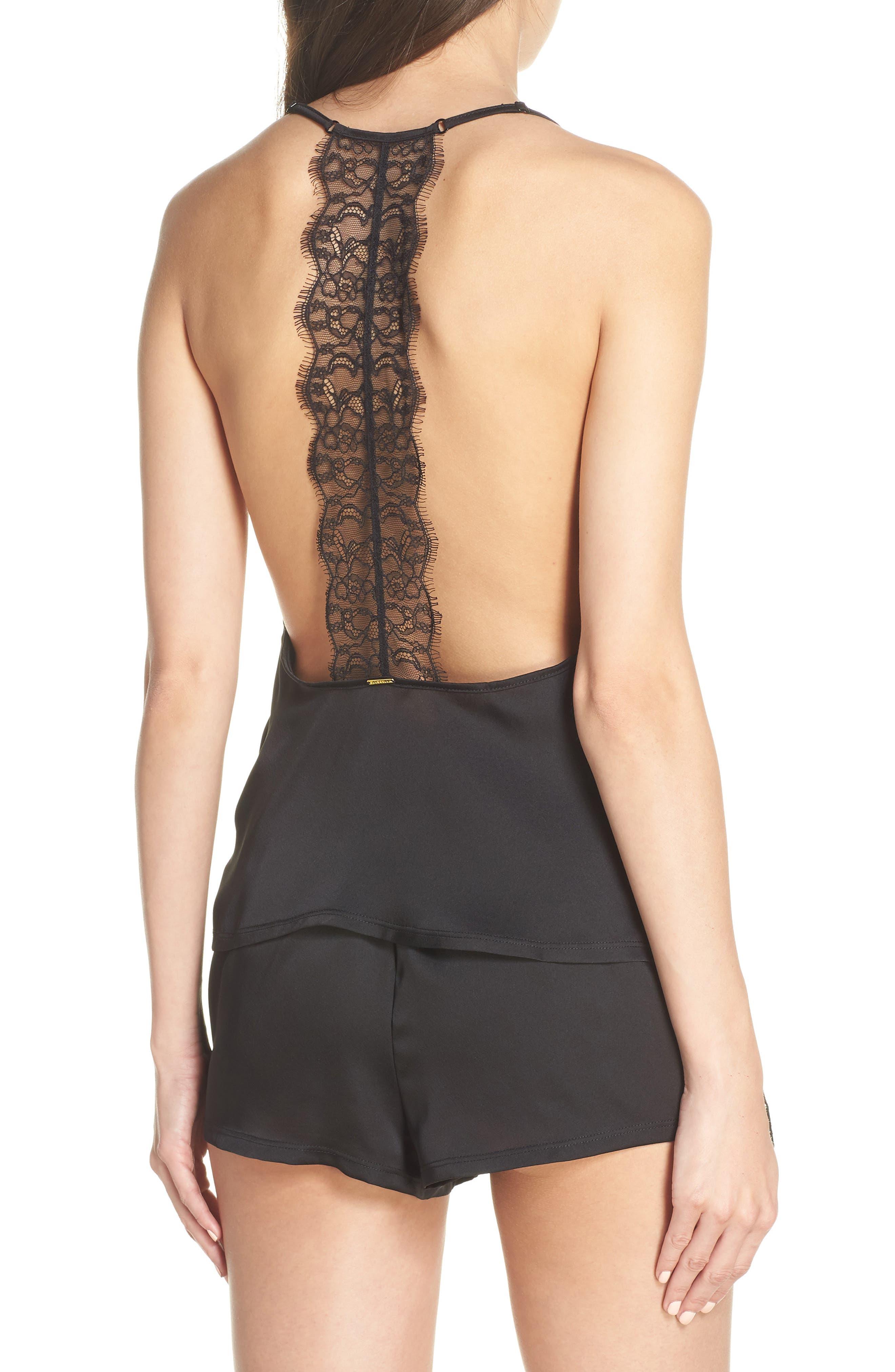 ,                             Ivy Short Pajamas,                             Alternate thumbnail 2, color,                             BLACK