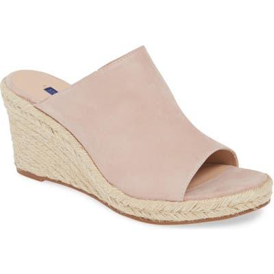 Stuart Weitzman Marabella Slide Espadrille Sandal, Grey