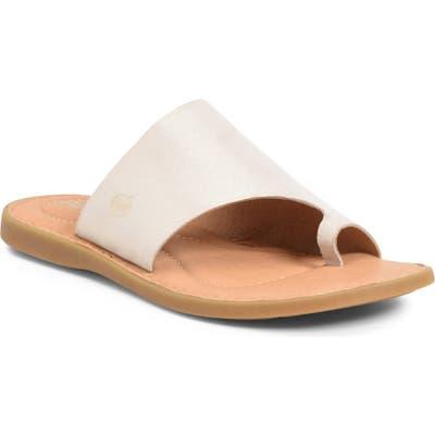B?rn Inti Slide Sandal, Metallic