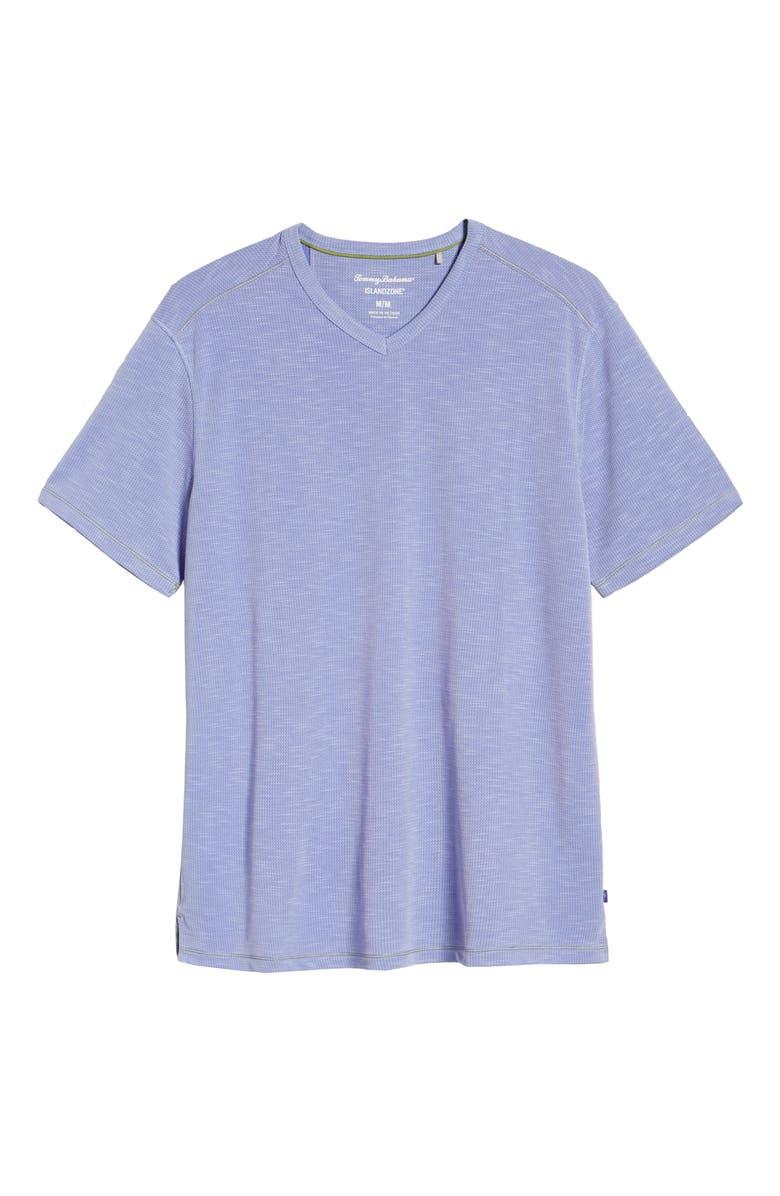 TOMMY BAHAMA Tropicool Paradise V-Neck T-Shirt, Main, color, 409