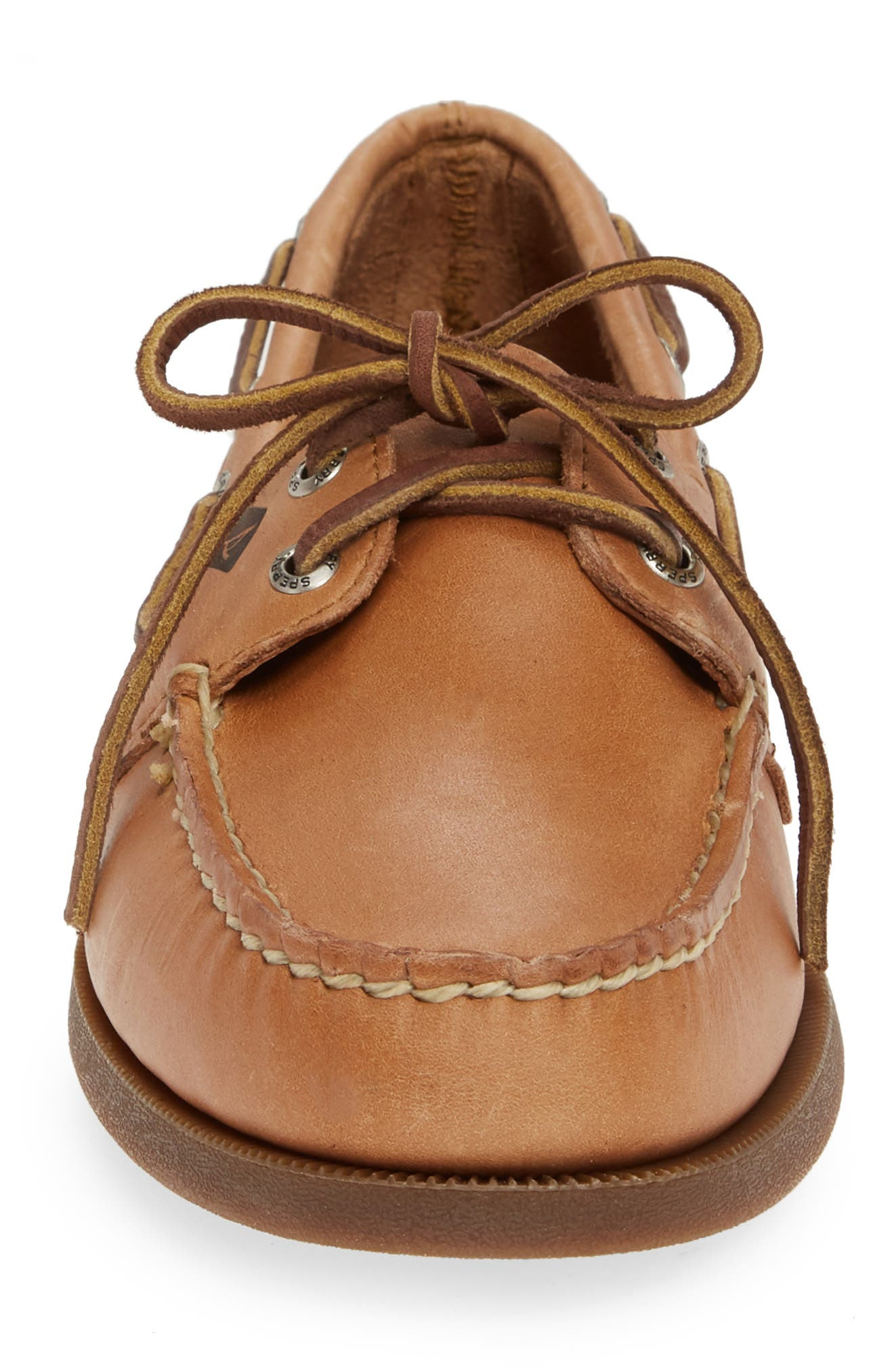 ,                             'Authentic Original' Boat Shoe,                             Alternate thumbnail 4, color,                             Sahara