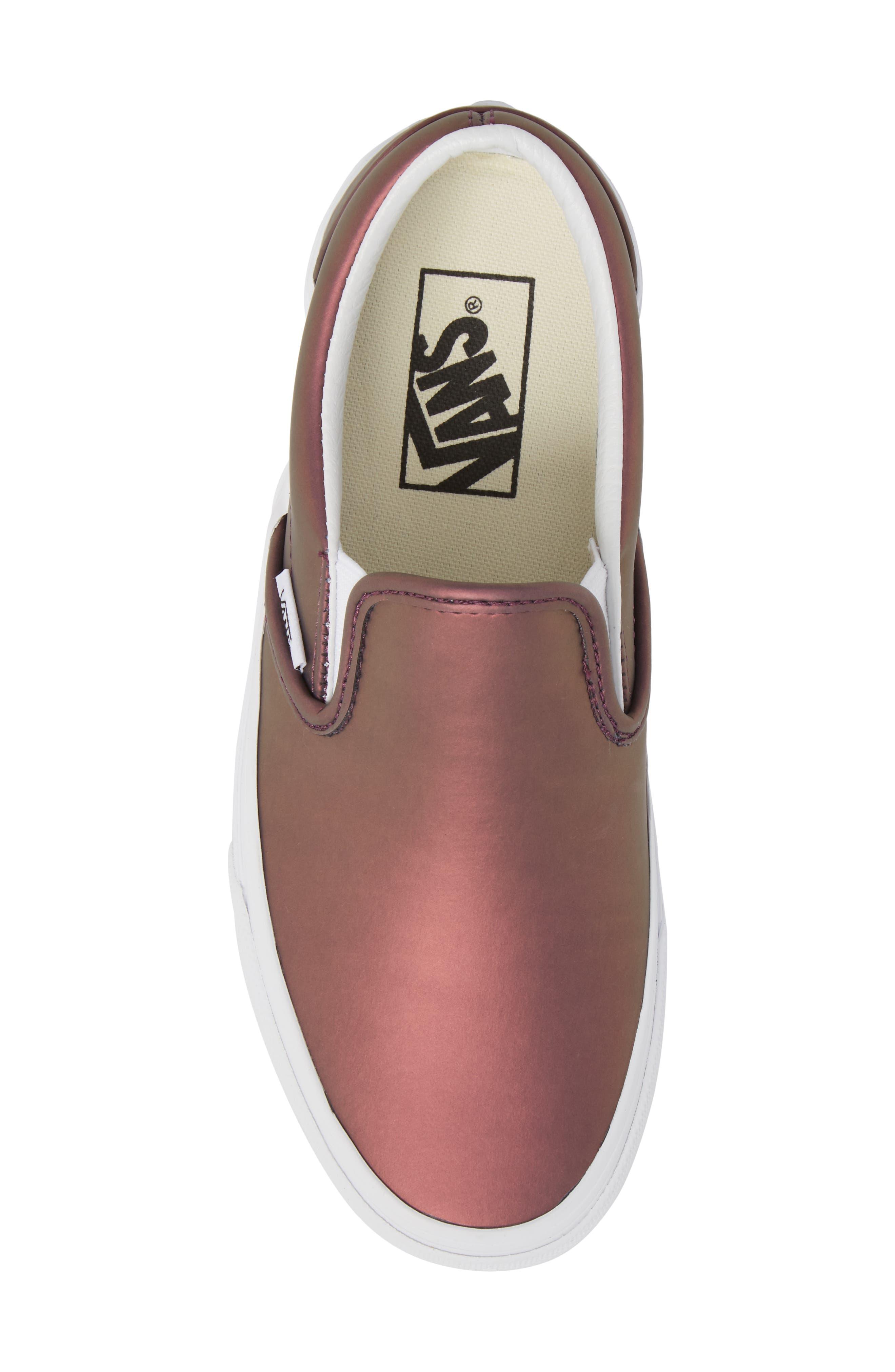 ,                             Classic Slip-On Sneaker,                             Alternate thumbnail 187, color,                             610
