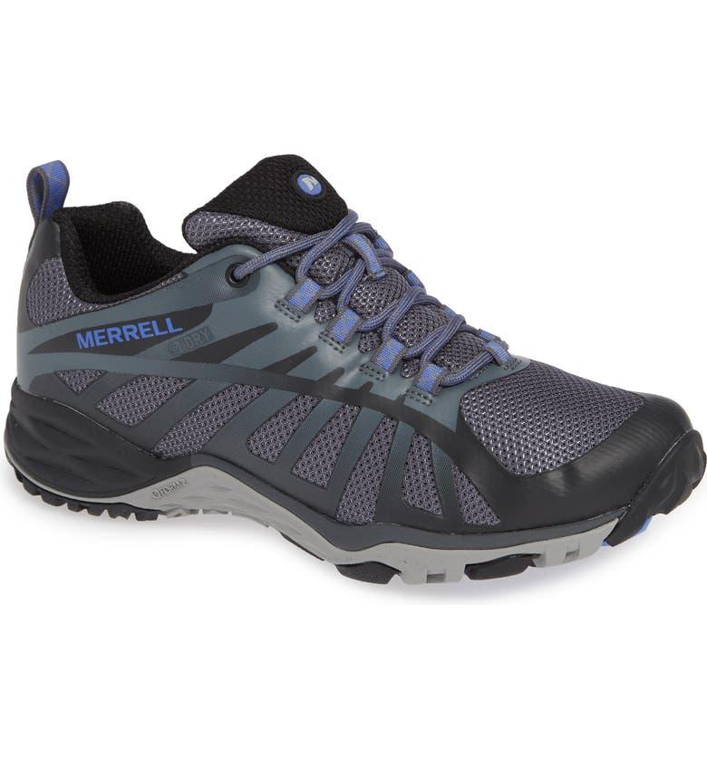 MERRELL Siren Edge Waterproof Q2 Hiking Shoe, Main, color, 001