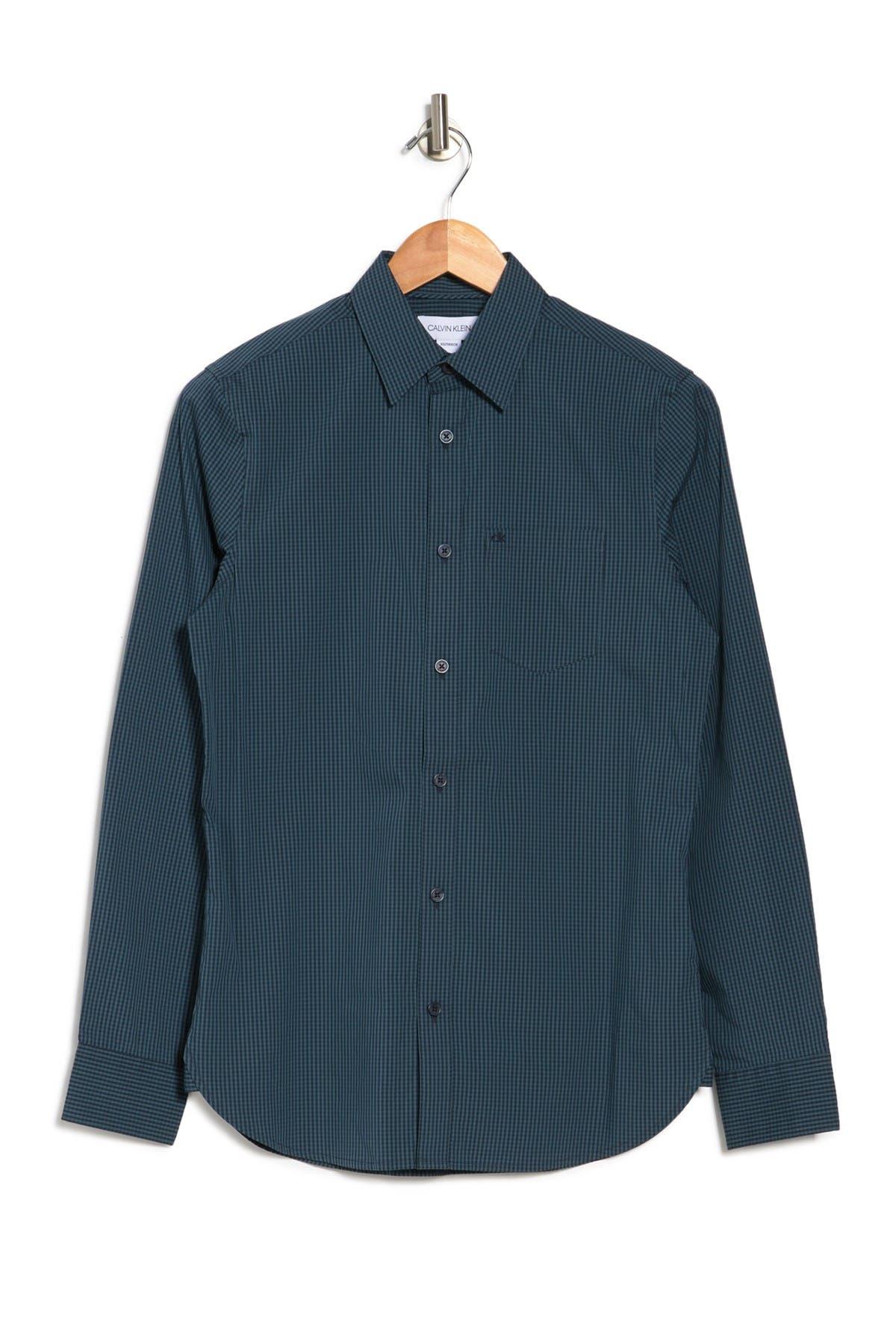 Image of Calvin Klein Micro Print Shirt