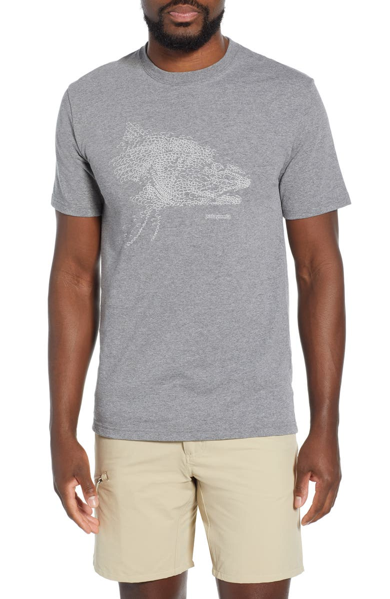 PATAGONIA Hooked Head Responsibili-Tee T-Shirt, Main, color, 020