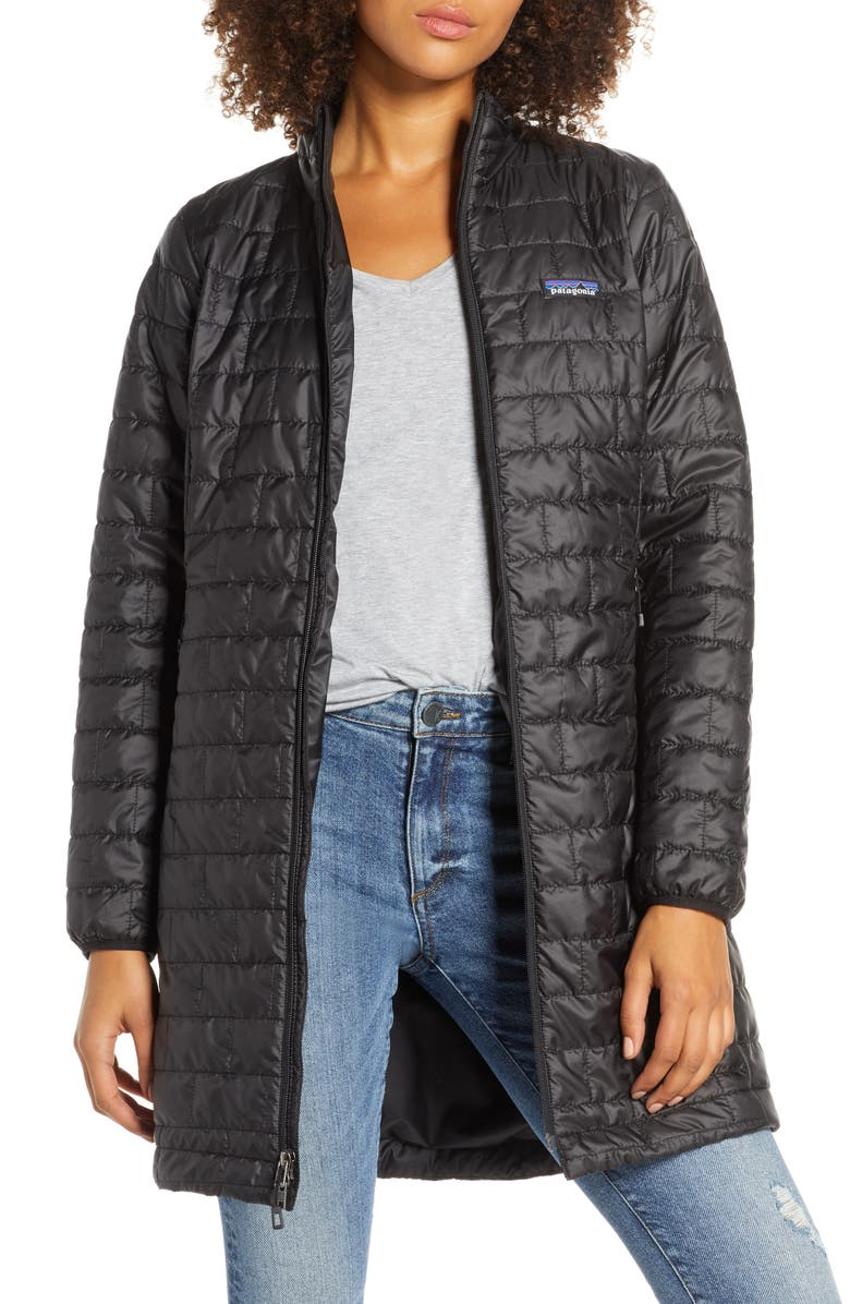 PATAGONIA Nano Puff<sup>®</sup> Water Repellent Puffer Jacket, Main, color, BLK BLACK