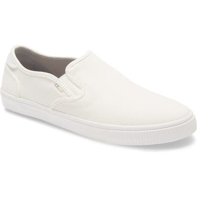 Toms Baja Slip-On, White