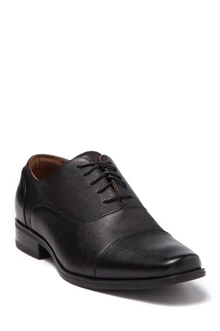 Image of Florsheim Ragusa Leather Cap Toe Oxford
