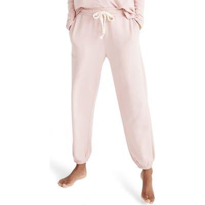 Madewell Pajama Sweatpants, Pink