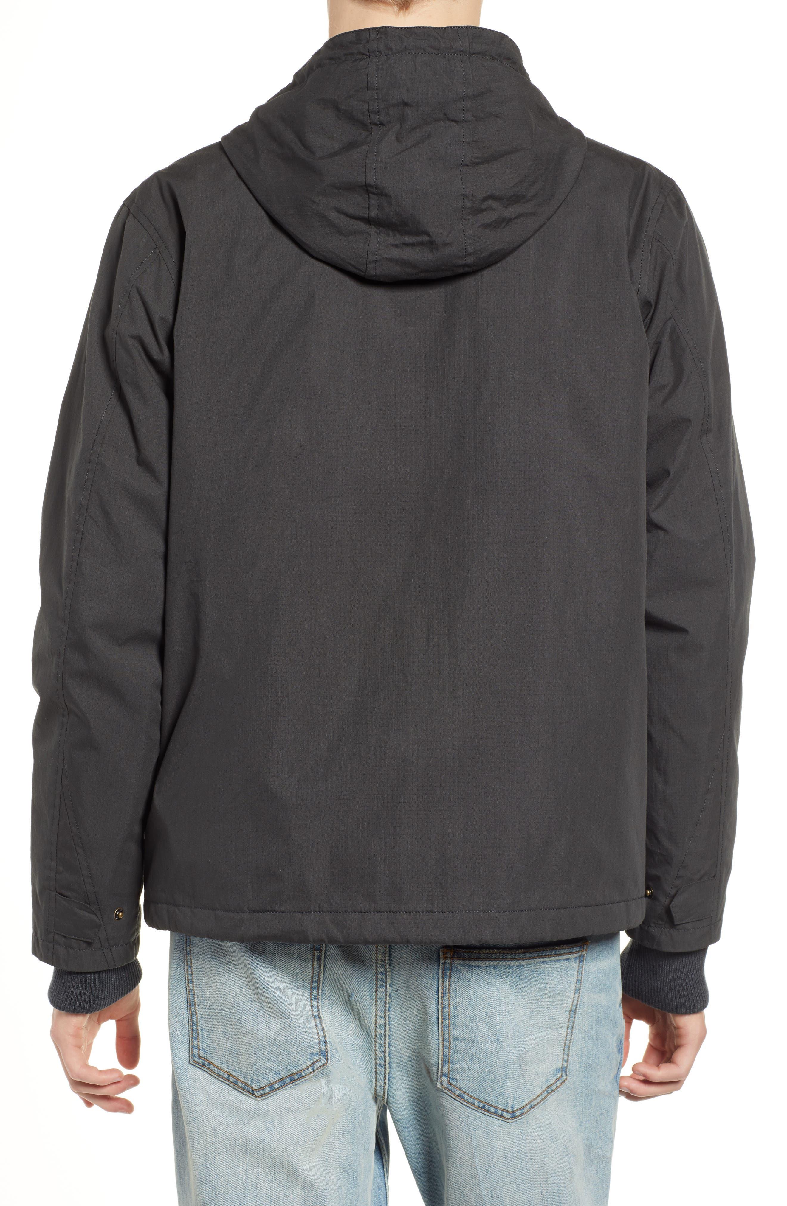 ,                             Ripstop Parka Jacket,                             Alternate thumbnail 2, color,                             PIRATE BLACK