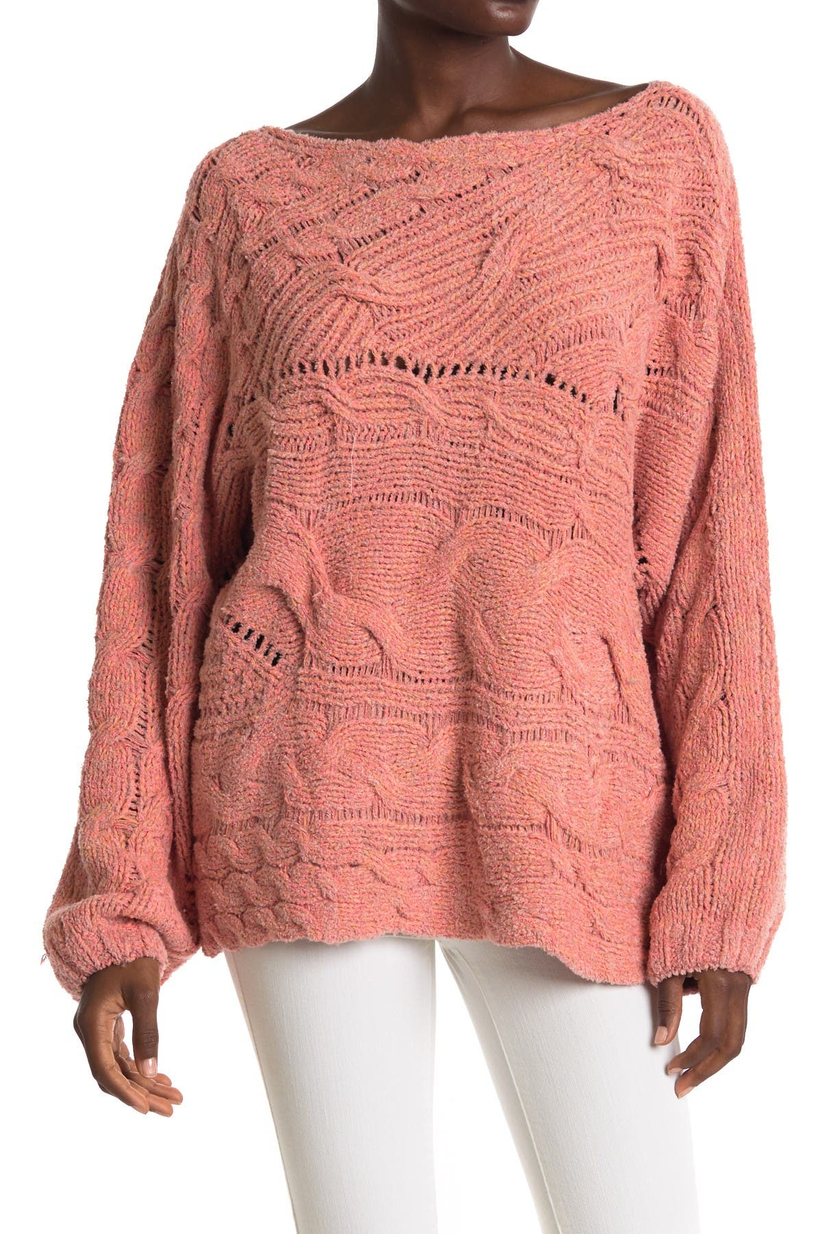 Image of Free People Against The Tide Knit Sweater