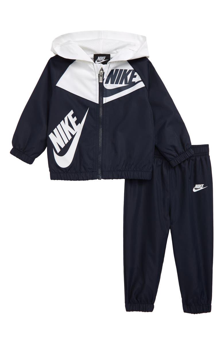 NIKE Split Futura Windrunner Hooded Jacket & Track Pants, Main, color, 425