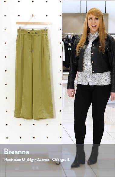 Cherry Wide Leg Pants, sales video thumbnail