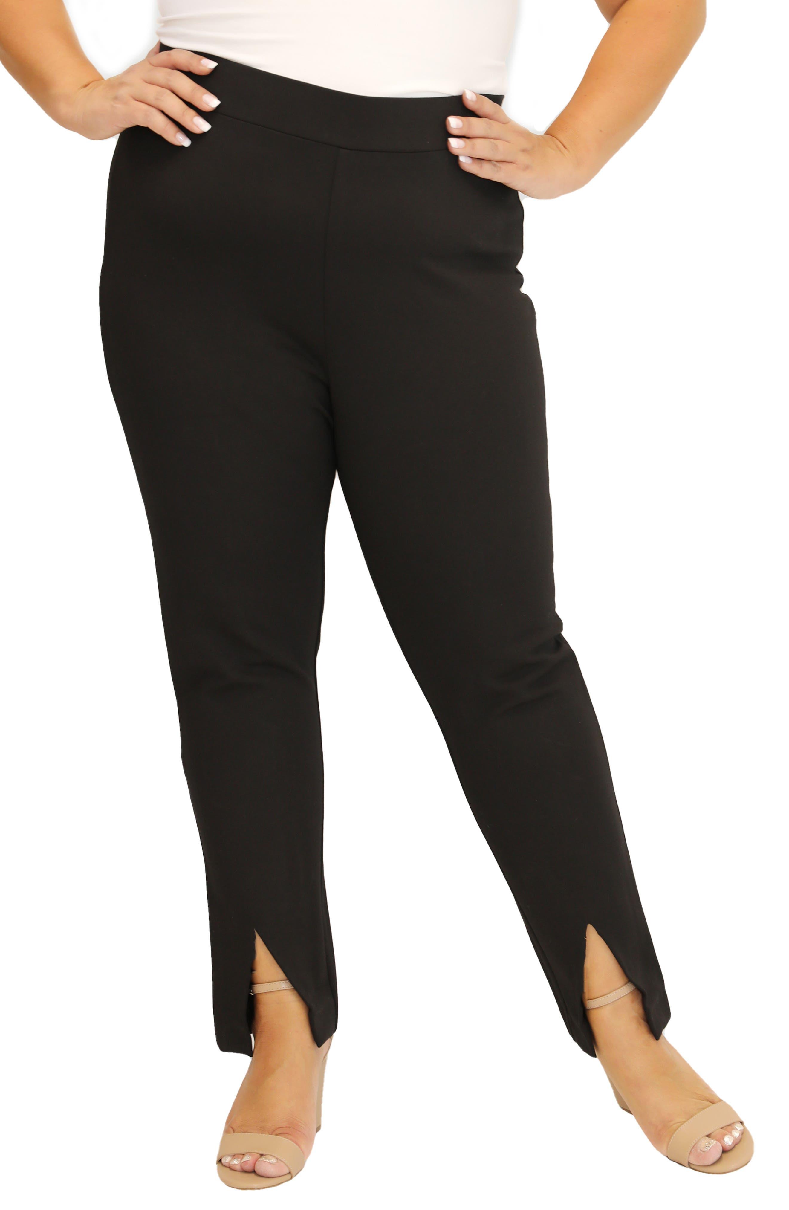 Slit Cuff Compression Pants