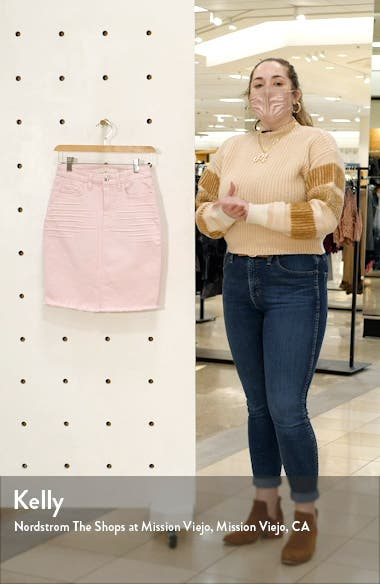by 7 For All Mankind Denim Pencil Skirt, sales video thumbnail