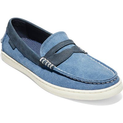 Cole Haan Pinch Weekend Penny Loafer- Blue
