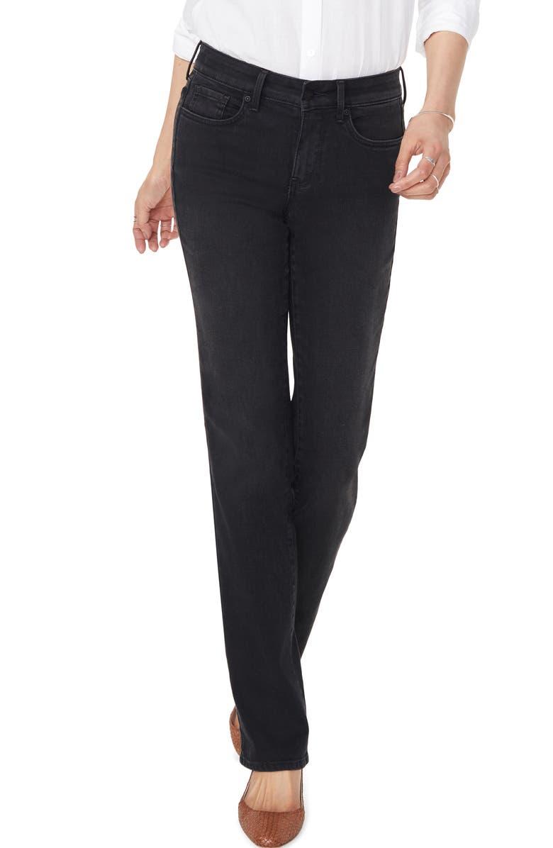 NYDJ Marilyn Muir Garden Pocket Straight Leg Jeans, Main, color, DAWNER