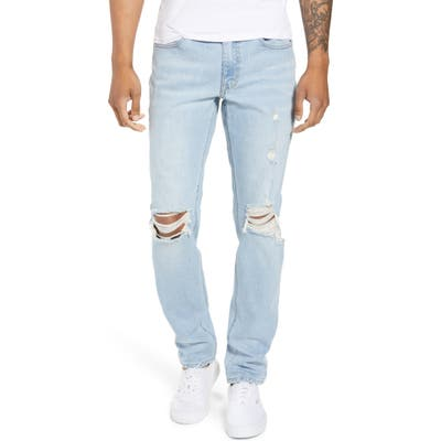 The Rail Ripped Skinny Fit Jeans, Blue