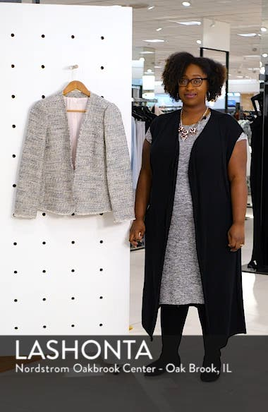 Tweed Peplum Jacket, sales video thumbnail