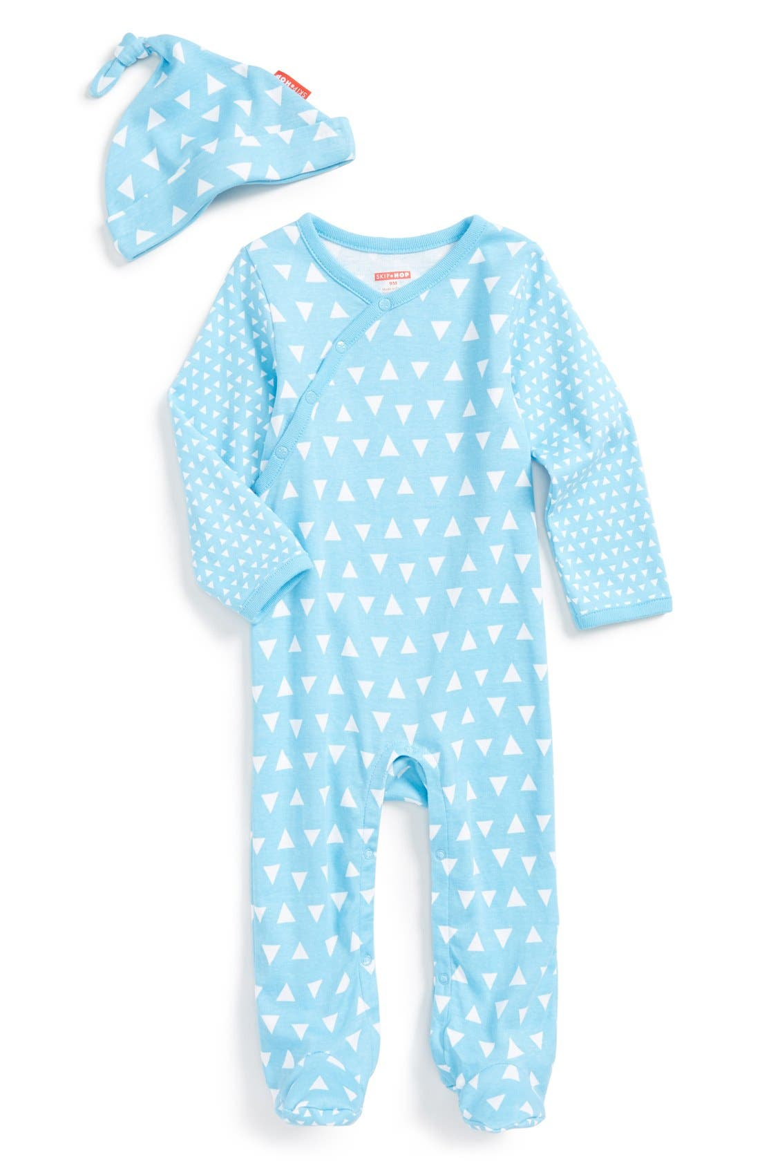 SkipHop Baby Boys Pop Prints Loungewear Set-Triangles
