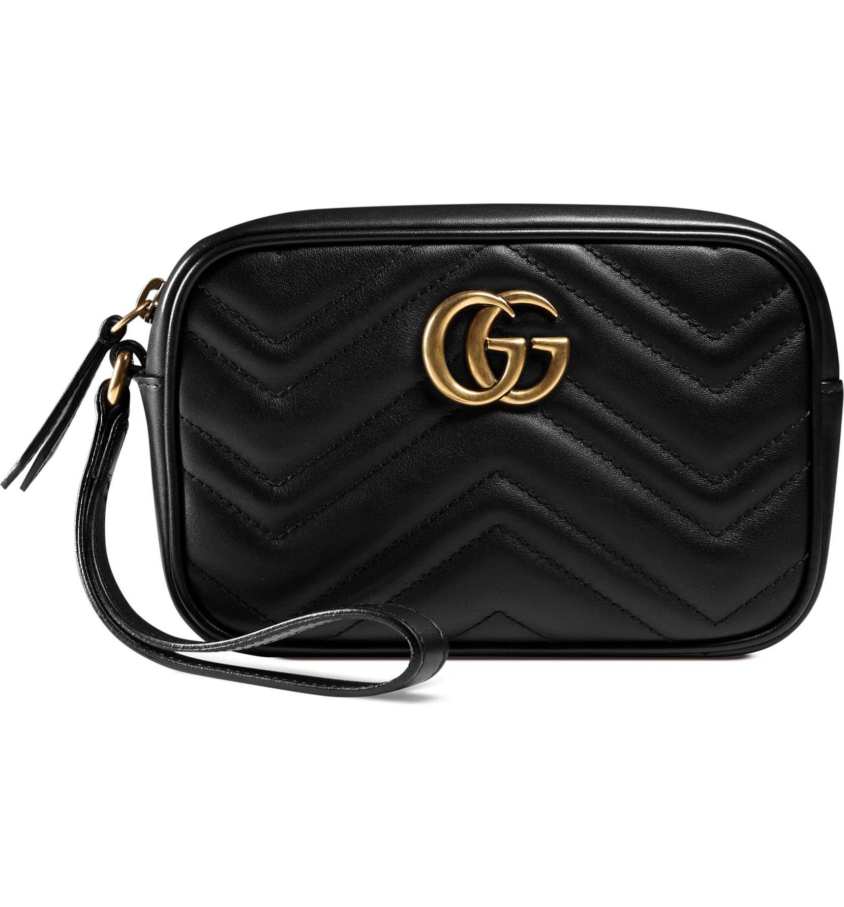 881e726c40eb Gucci GG Marmont Matelassé Imitation Pearl Leather Shoulder Bag | Nordstrom