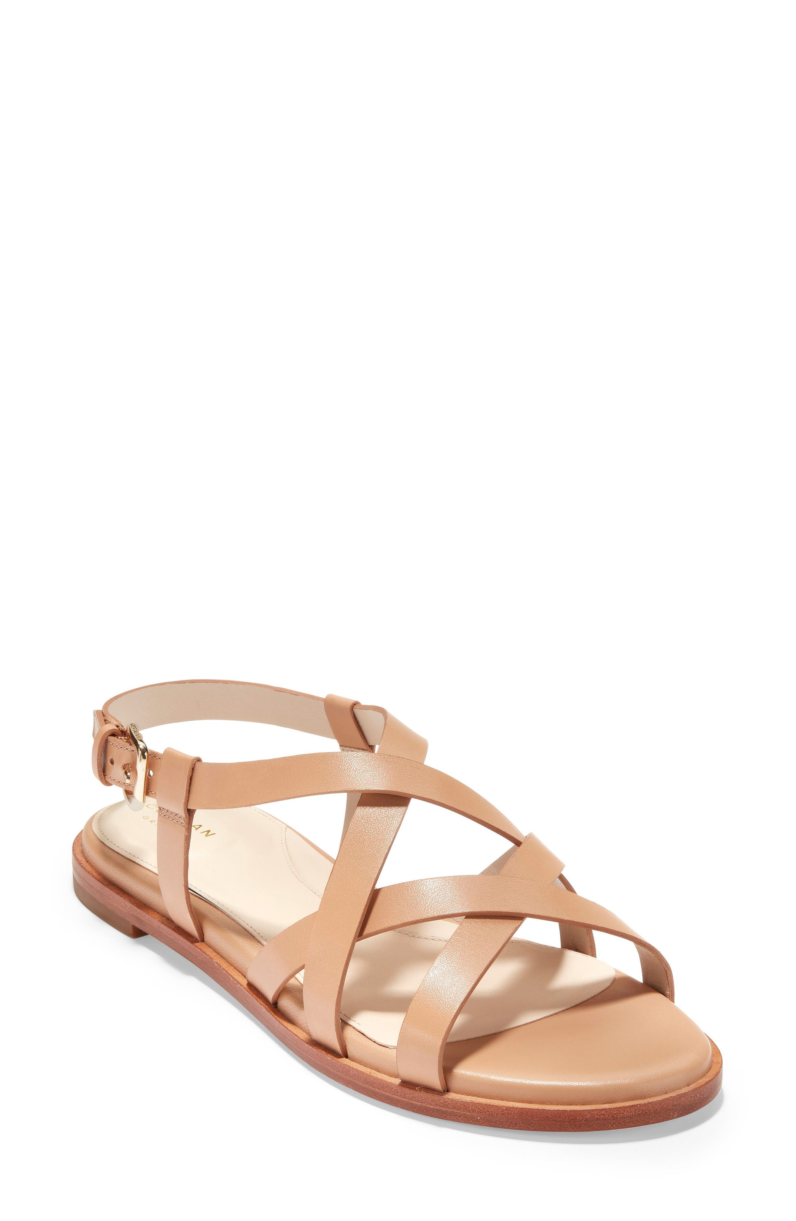 Cole Haan Analeigh Strappy Sandal, Brown