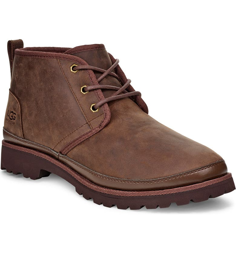 UGG<SUP>®</SUP> Neuland Waterproof Chukka Boot, Main, color, GRIZZLY