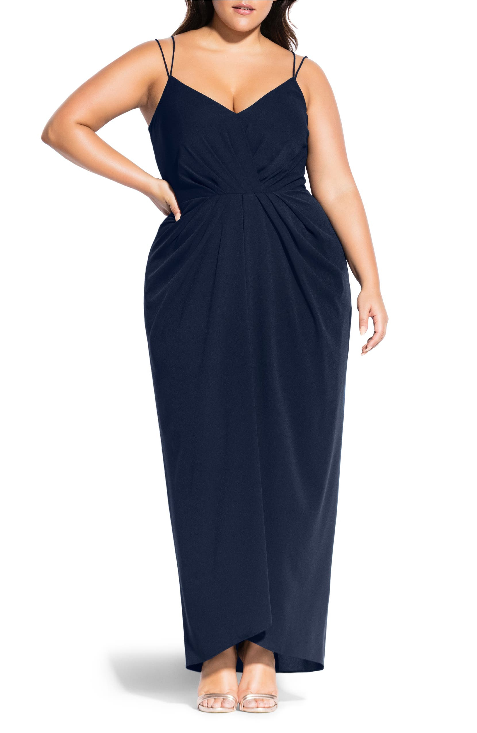 City Chic Luciana Evening Dress (Plus Size) | Nordstrom