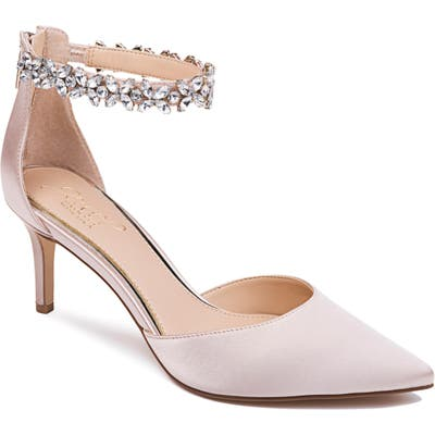 Jewel Badgley Mischka Raleigh Pump, Pink