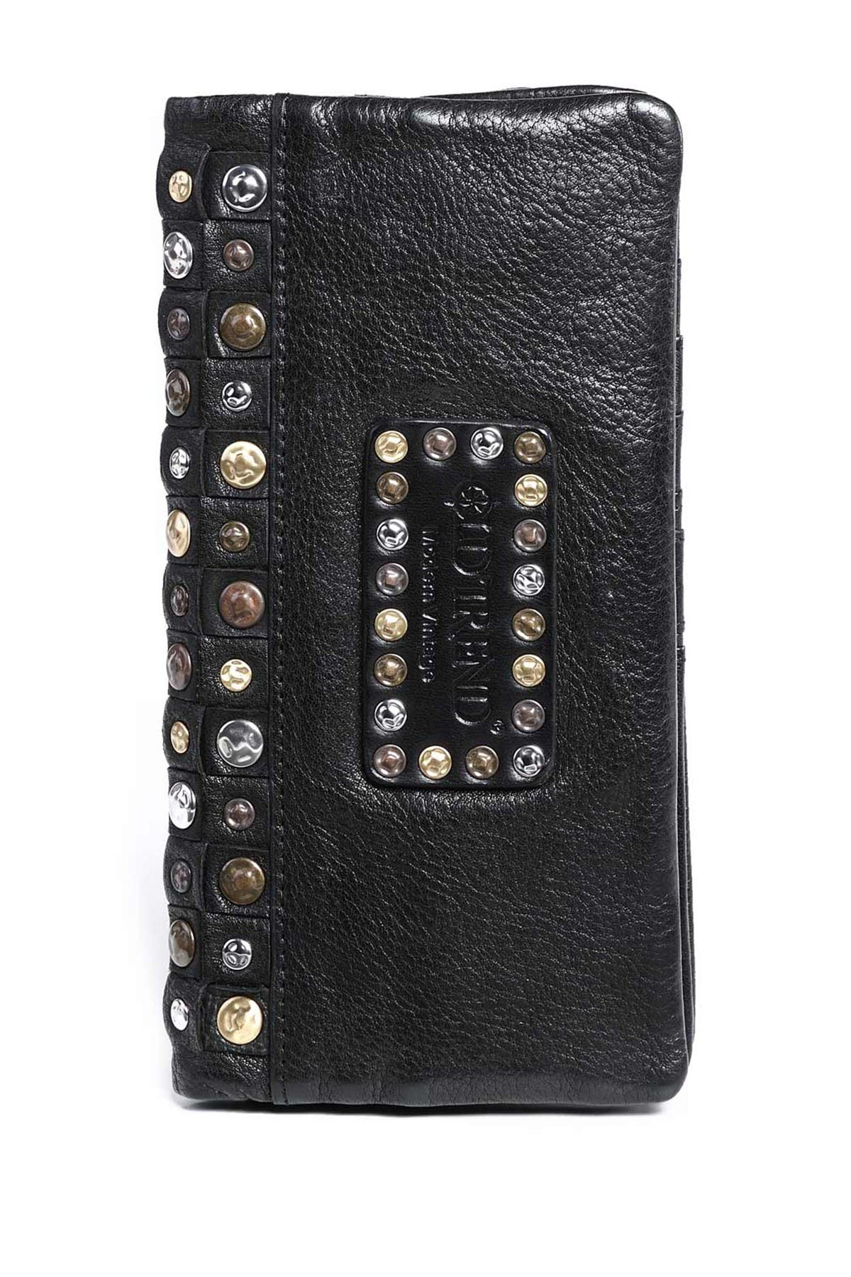 Image of Old Trend Camellia Leather Wallet