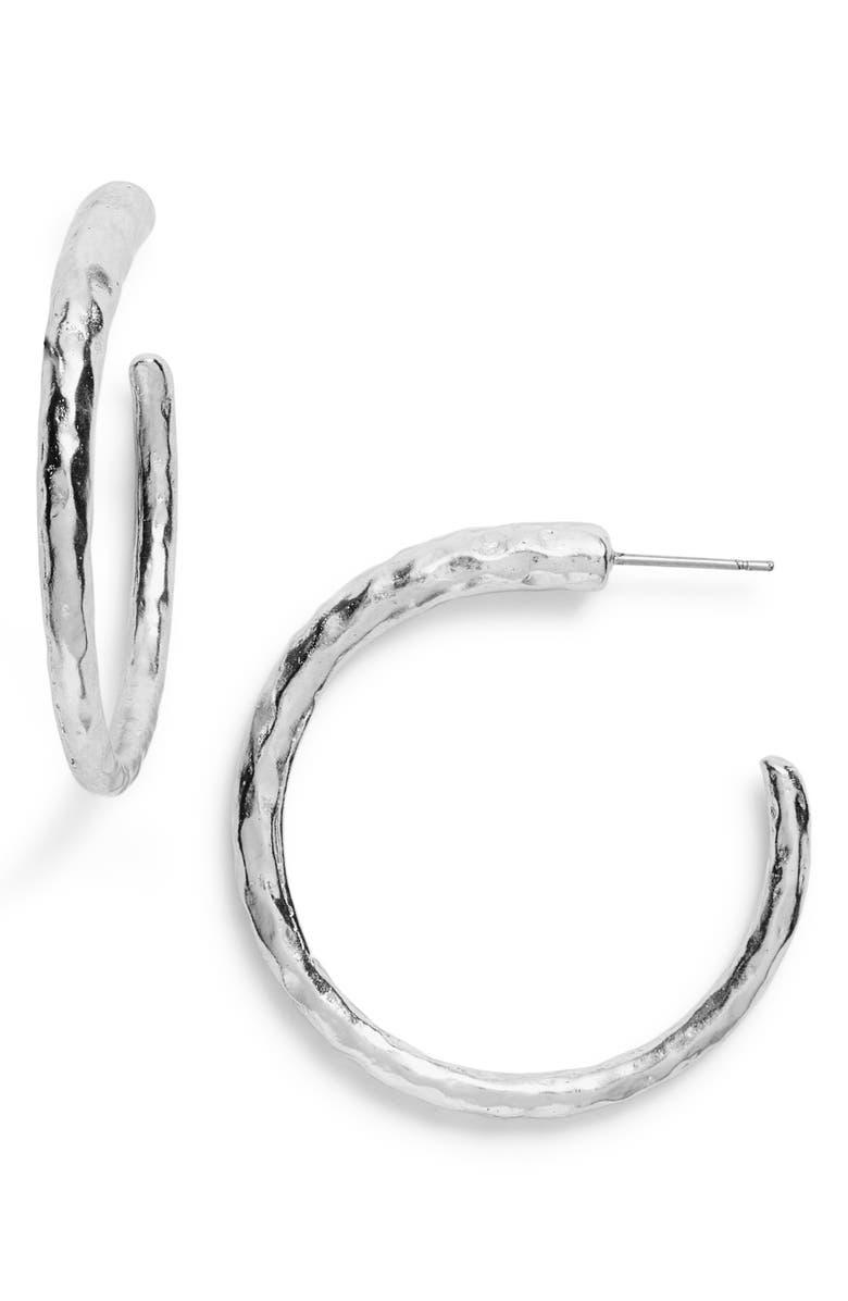 KARINE SULTAN Hoop Earrings, Main, color, 040