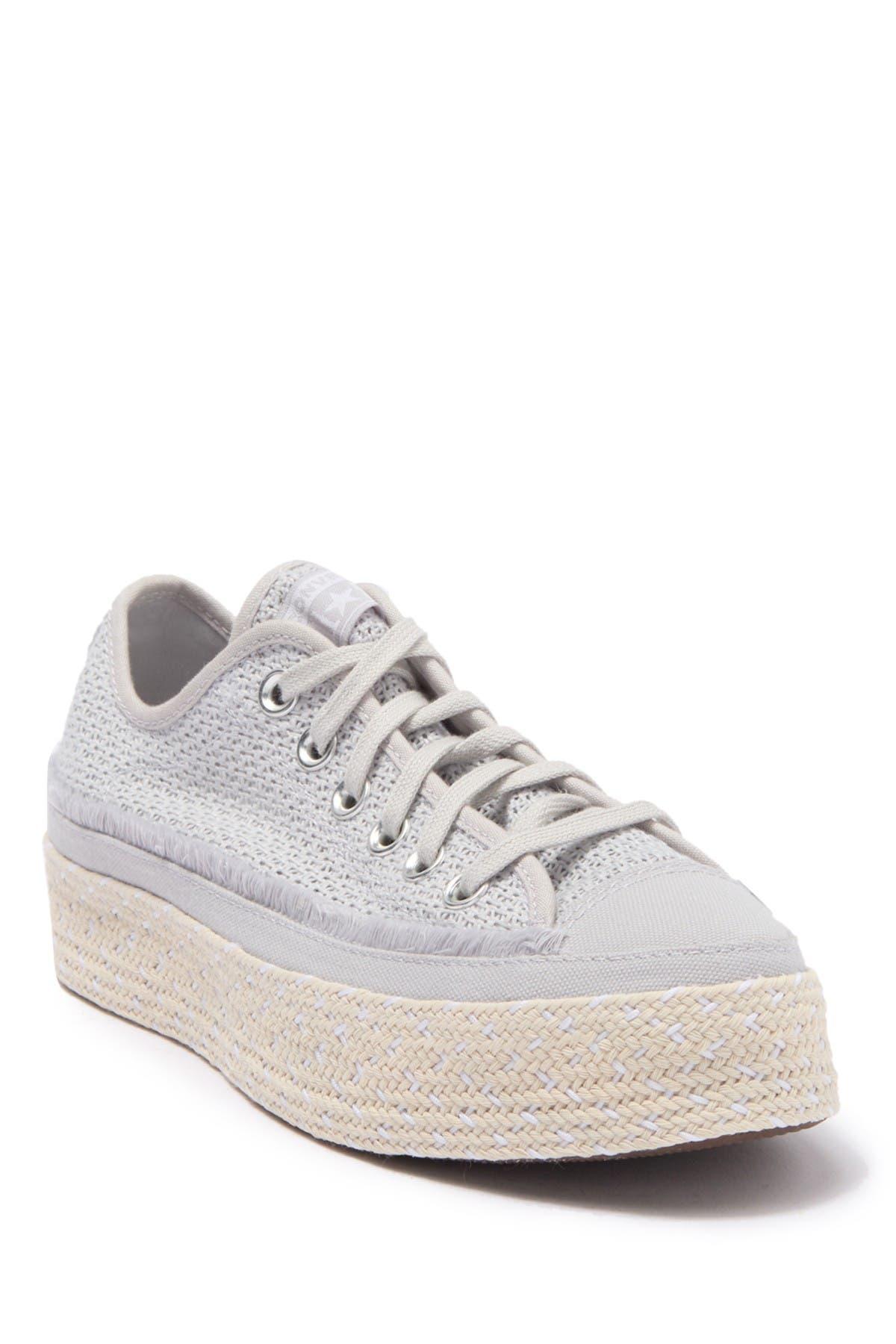 Image of Converse Espadrille Platform Sneaker