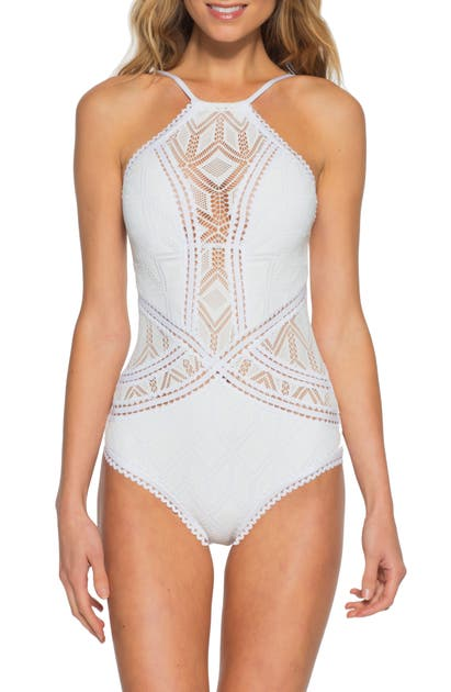 Becca COLOR PLAY ONE-PIECE SWIMSUIT