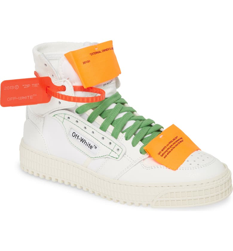 OFF-WHITE Off Court 3.0 High Top Sneaker, Main, color, WHITE
