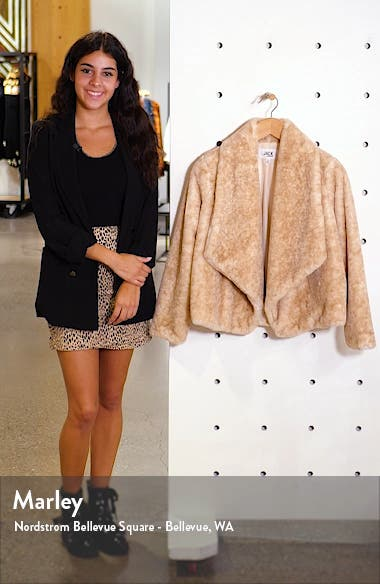 by BB Dakota Faux Fur Jacket, sales video thumbnail