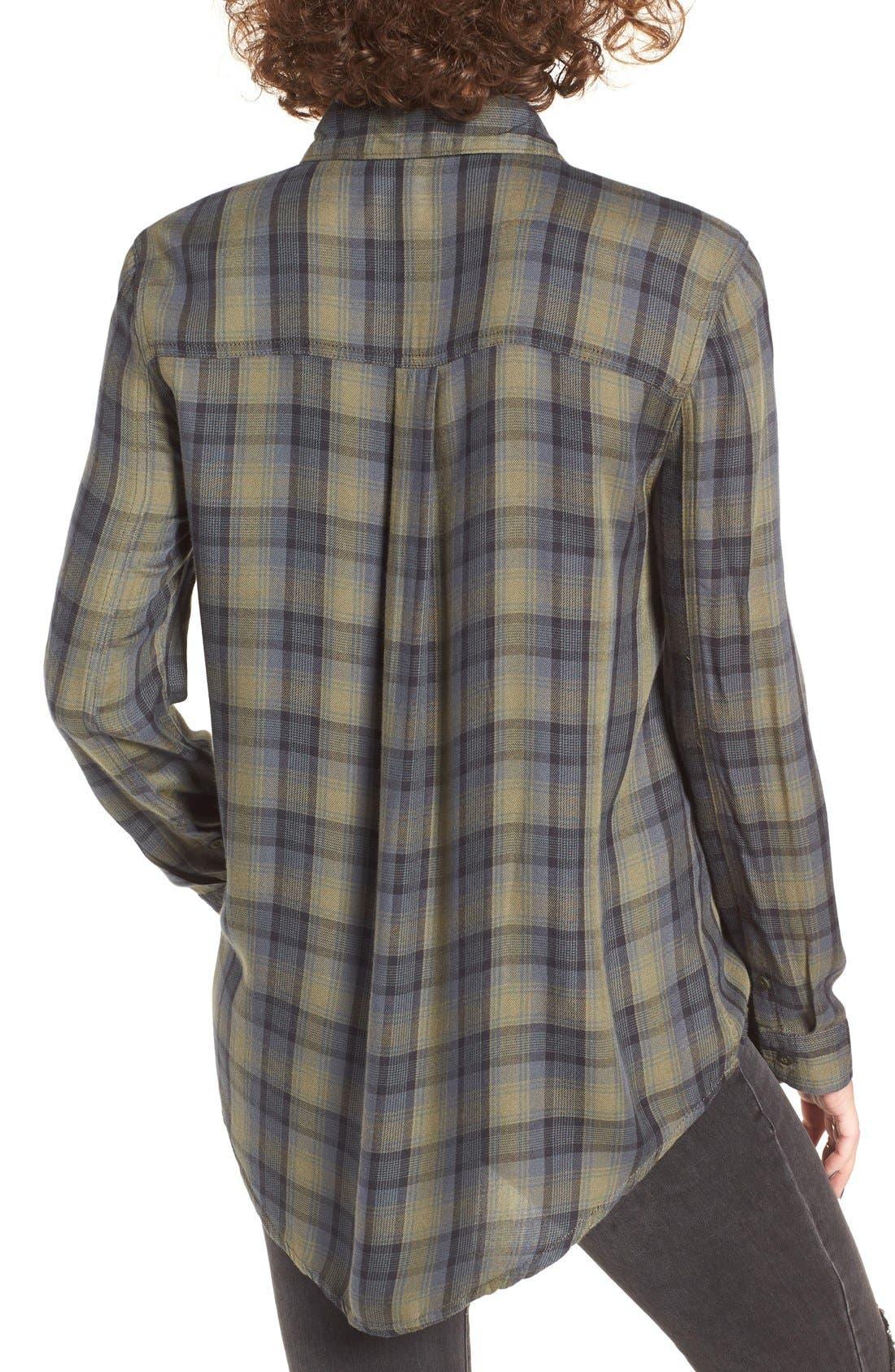 ,                             Plaid Tunic Shirt,                             Alternate thumbnail 22, color,                             311