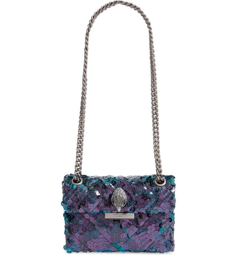 KURT GEIGER LONDON Mini Kensington Sequin Crossbody Bag, Main, color, 400