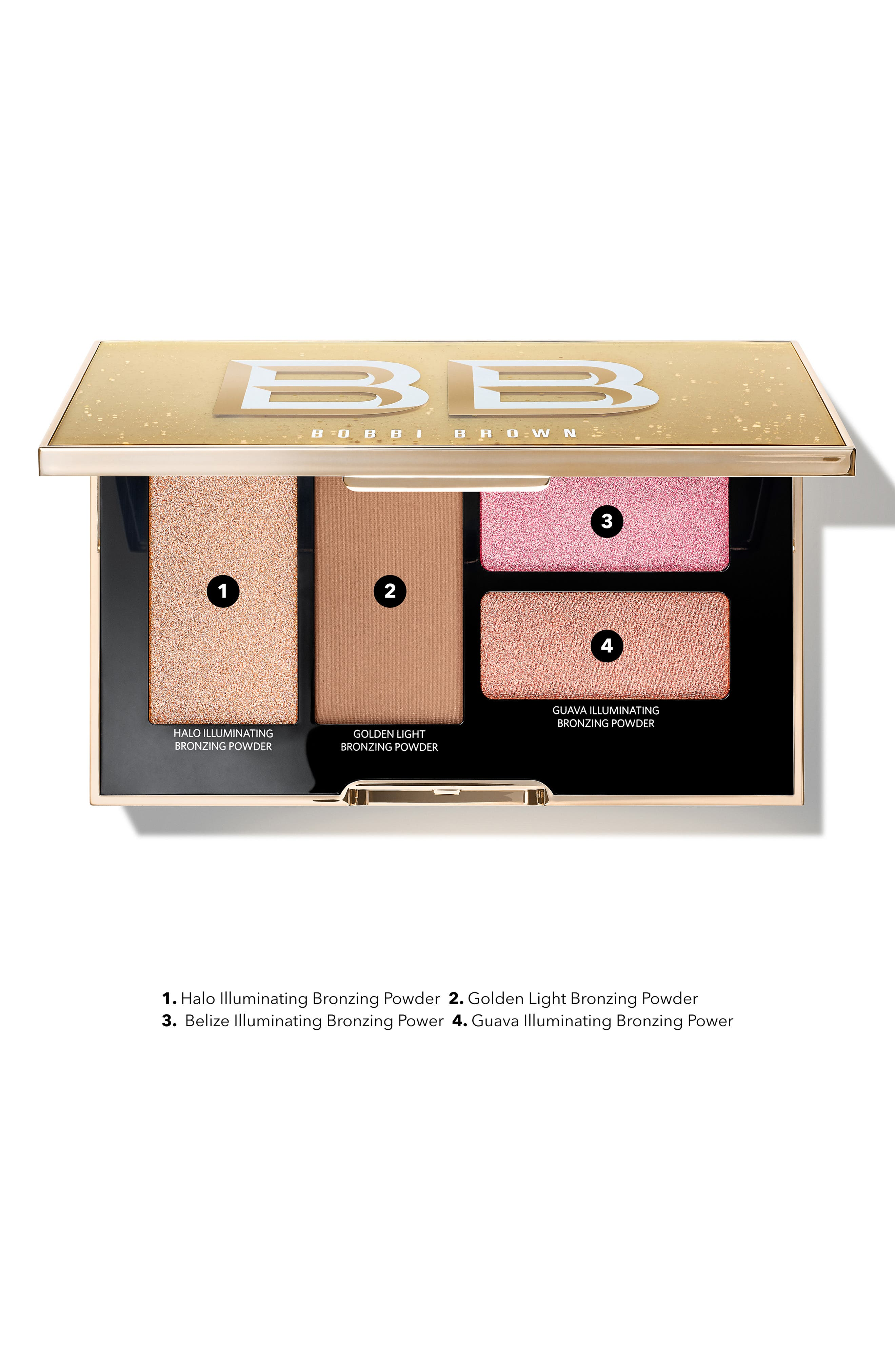 ,                             Take It To Glow Highlight & Bronzing Powder Palette,                             Alternate thumbnail 6, color,                             NO COLOR