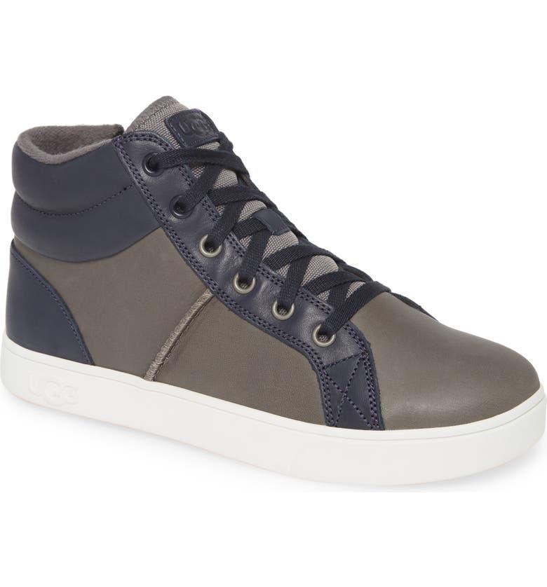 UGG<SUP>®</SUP> Boscoe Sneaker, Main, color, CHARCOAL
