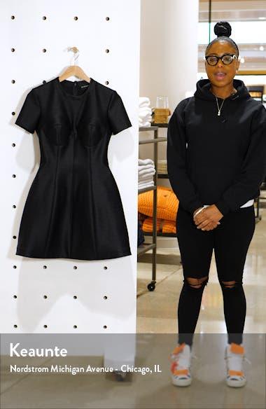 Bustier Seam Bubble Minidress, sales video thumbnail
