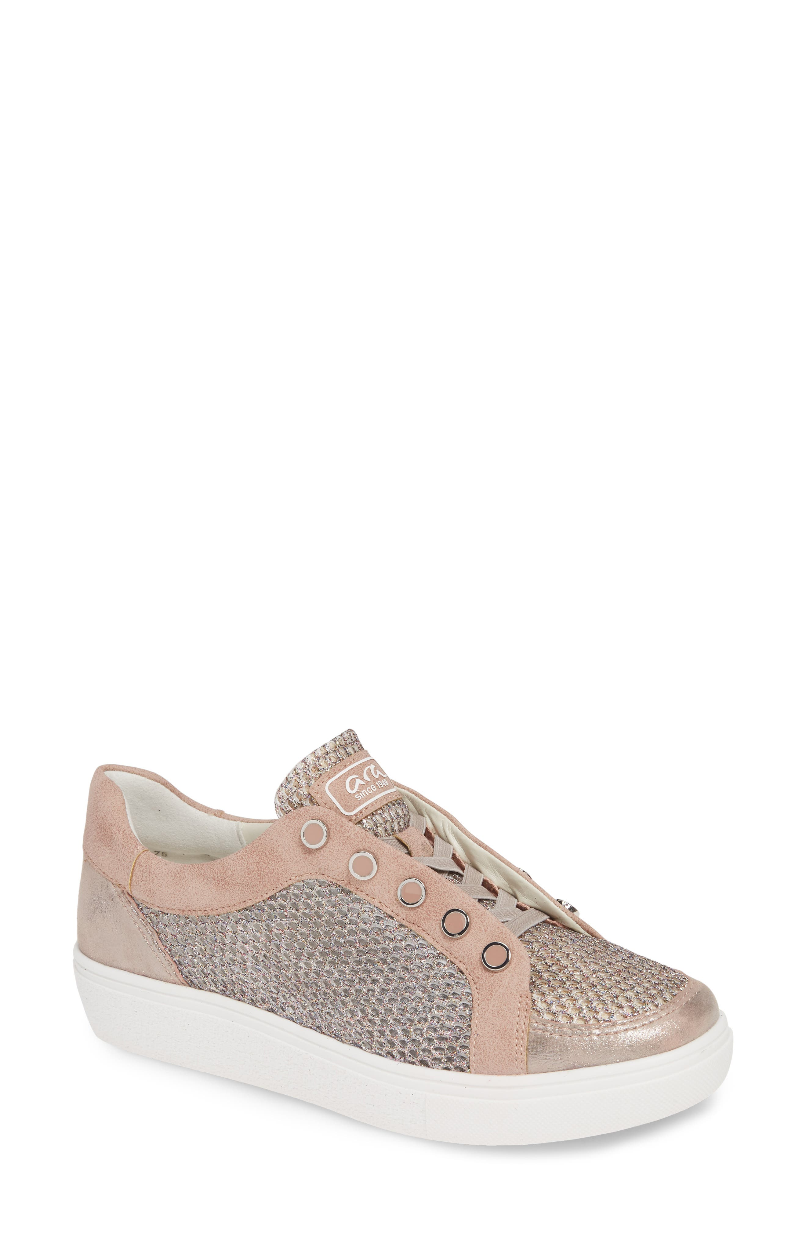 Ara Natasha Slip-On Sneaker- Beige