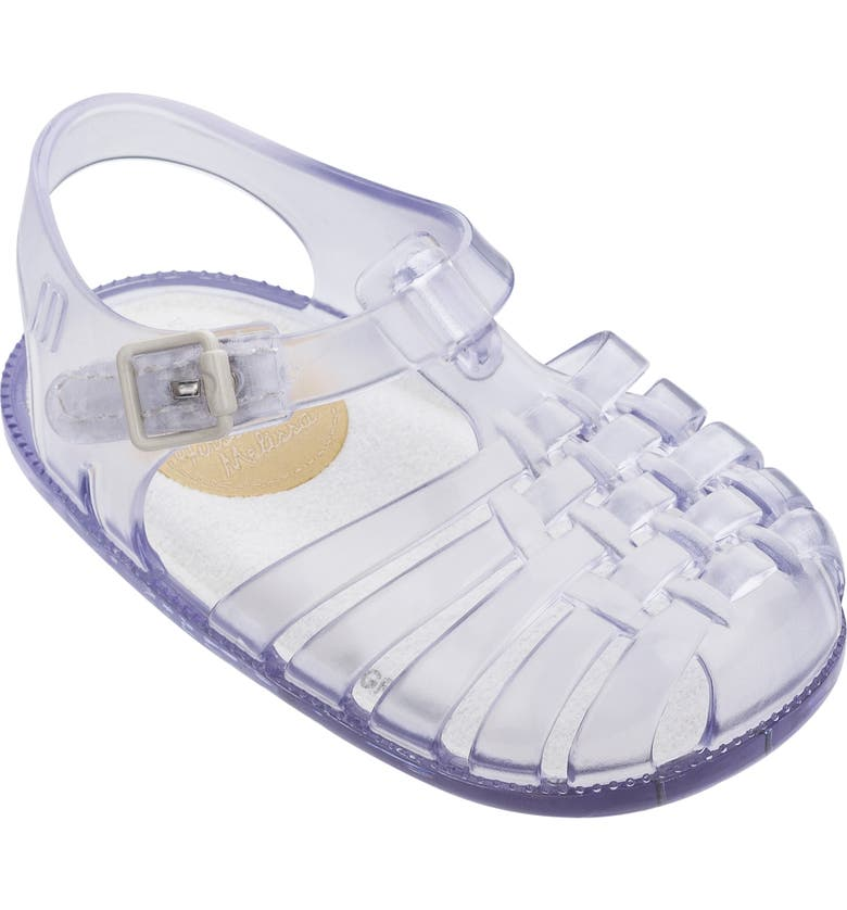 MINI MELISSA My First Melissa III Sandal, Main, color, CLEAR