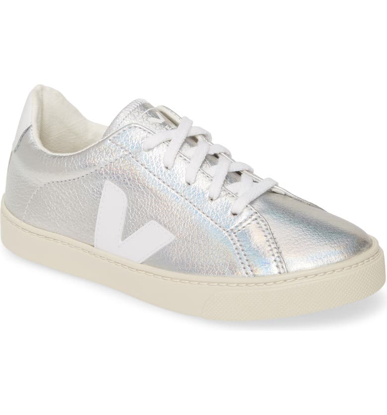 VEJA Esplar Lace-Up Sneaker, Main, color, UNICORN WHITE