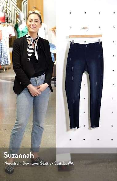 Skimmer Denim Leggings, sales video thumbnail