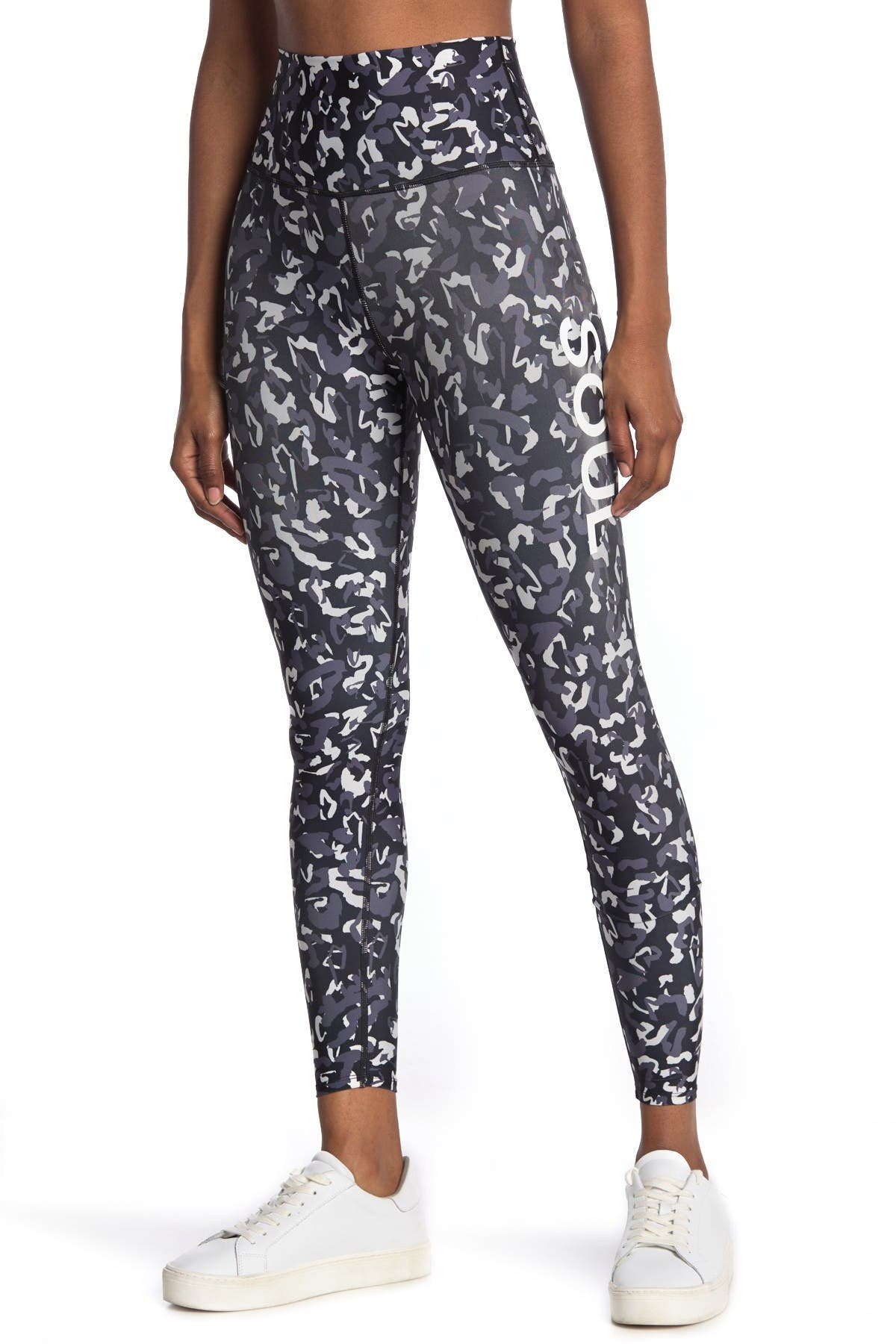 Image of SoulCycle Moving Forward High Waisted Leggings
