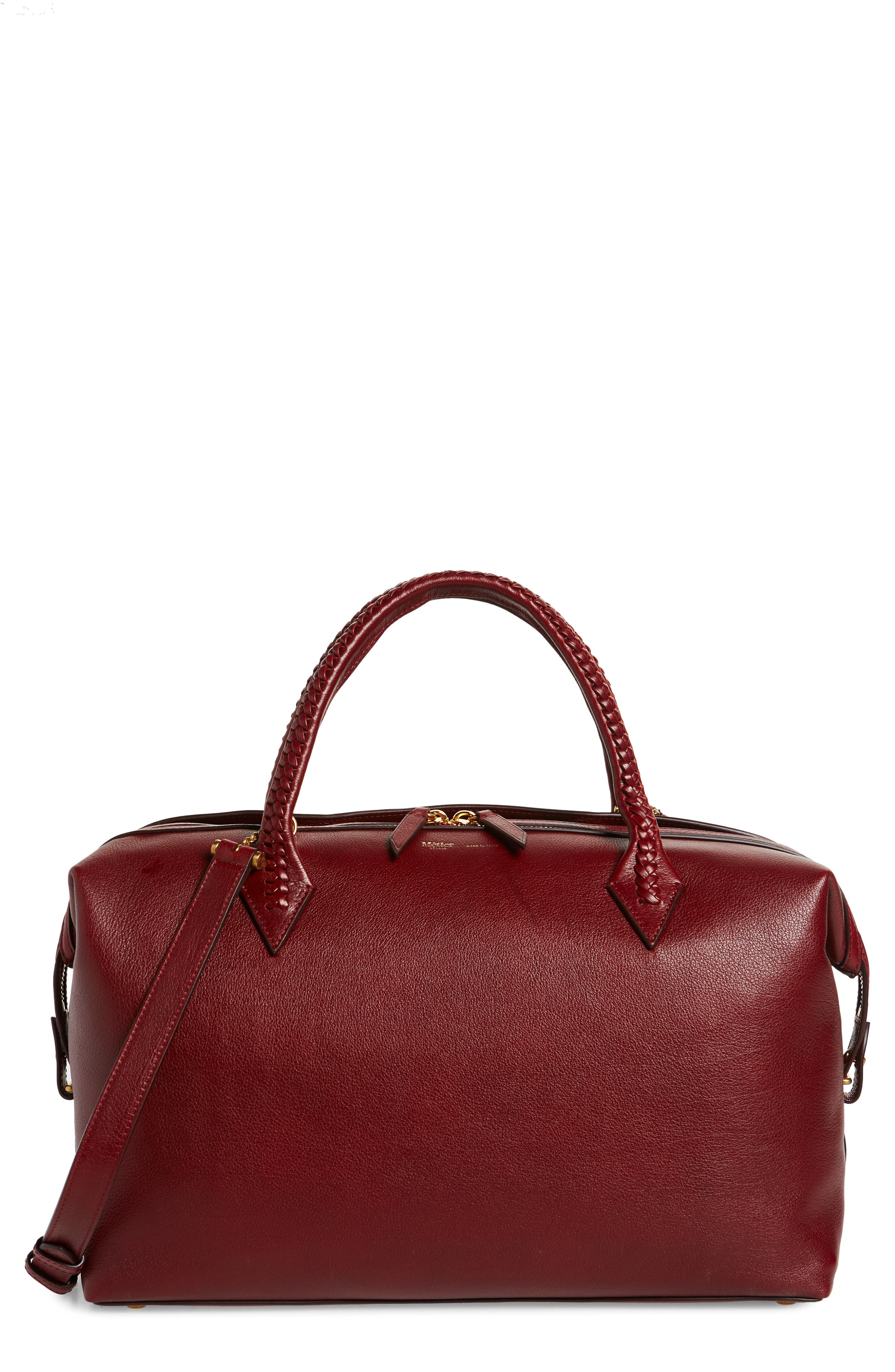 Perriand City Leather Duffle Bag